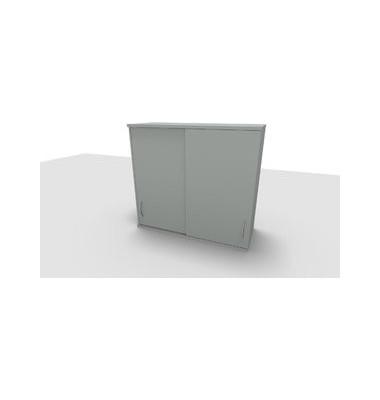 Aufsatzaktenschrank ClassicLine 1.028.315124 VC208511, Holz abschließbar, 3 OH, 120 x 108,8 x 44,2 cm, lichtgrau