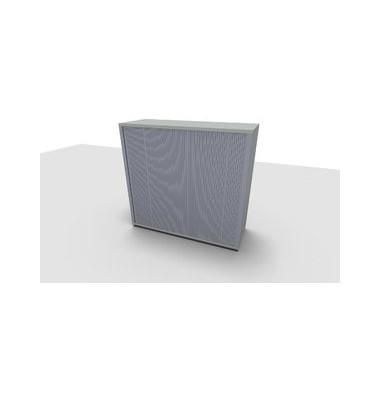 Aktenschrank ClassicLine 1.028.221024 VC717136, Kunststoff/Holz abschließbar, 3 OH, 120 x 113 x 44,2 cm, lichtgrau