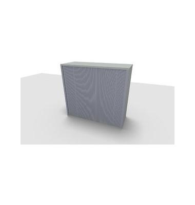 Aufsatzaktenschrank ClassicLine 1.028.320124 VC197390, Kunststoff/Holz abschließbar, 3 OH, 120 x 108,8 x 44,2 cm, lichtgrau