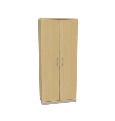 Aktenschrank ClassicLine 1.028.507084 VC285824M, Holz/Stahl abschließbar, 5 OH, 80 x 182 x 44,2 cm, inkl. Montage, ahorn