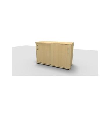 Aktenschrank ClassicLine 1.028.215024 VC285838, Holz/Stahl abschließbar, 2 OH, 120 x 78 x 44,2 cm, ahorn
