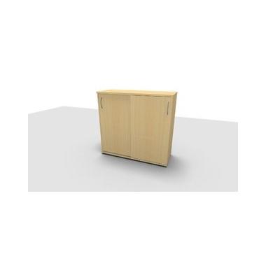 Aktenschrank ClassicLine 1.028.315024 VC285839, Holz/Stahl abschließbar, 3 OH, 120 x 113 x 44,2 cm, ahorn