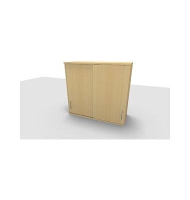 Aufsatzaktenschrank ClassicLine 1.028.315124 VC340996, Holz abschließbar, 3 OH, 120 x 108,8 x 44,2 cm, ahorn