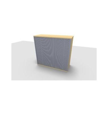 Aufsatzaktenschrank ClassicLine 1.028.320124 VC302496M, Kunststoff/Holz abschließbar, 3 OH, 120 x 108,8 x 44,2 cm, inkl. Montag