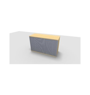 Aufsatzaktenschrank ClassicLine 1.028.220124 VC665557M, Kunststoff/Holz abschließbar, 2 OH, 120 x 73,6 x 44,2 cm, inkl. Montage