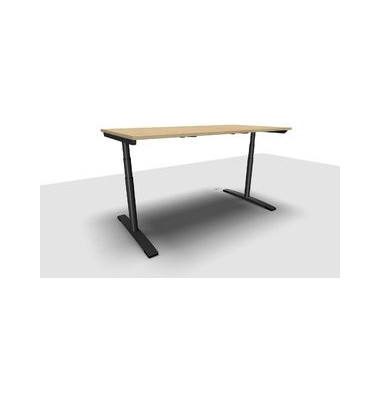 Schreibtisch Jump Move TR0022-4G3PGA9A9I400T1U0 ergonomisch ahorn rechteckig 180x90 cm (BxT) elektrisch höhenverstellbar