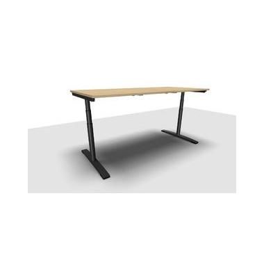 Schreibtisch Jump Move TR0026-4G3PGA9A9I400T1U0M ergonomisch ahorn rechteckig 200x90 cm (BxT) elektrisch höhenverstellbar