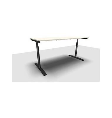 Schreibtisch Jump Move TR0026-4G3PGW3W3I400T1U0M ergonomisch weiß rechteckig 200x90 cm (BxT) elektrisch höhenverstellbar