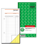 Formularbuch Rapport/Tagesrapport Nr. SD024 10,5 x 20,0 cm 2-fach