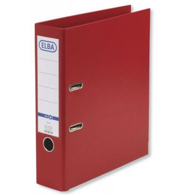 Smart 10468RO rot Ordner A4 80mm breit