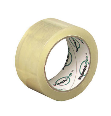 Packband SUPRAPRO 50mm x 66m transparent PP