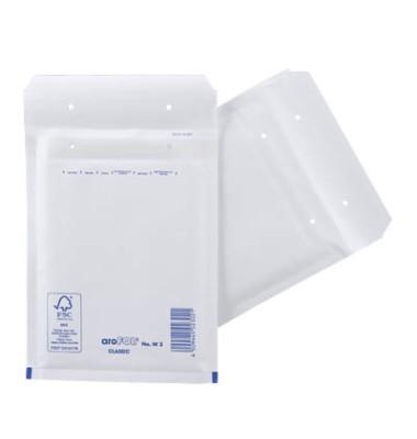 Luftpolstertaschen Classic No.W3 A6 haftklebend weiß innen: 150x215mm 100 Stück