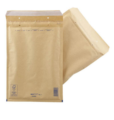 Luftpolstertaschen Classic No.7 A4 haftklebend braun 100 Stück
