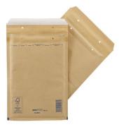 Luftpolstertaschen Classic No. 4, 2FVAF000004, innen 180x265mm, haftklebend + Lochung für Klammer, braun