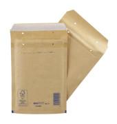 Luftpolstertaschen Classic No. 3, 2FVAF000003, innen 150x215mm, haftklebend + Lochung für Klammer, braun
