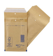 Luftpolstertaschen Classic No.1 A7 braun haftklebend innen: 100x165mm 200 Stück