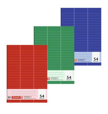Vokabelheft A5 Lineatur 54 liniert 3 Spalten weiß 32 Blatt
