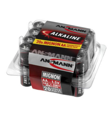 Batterie Red Alkaline Mignon / LR06 / AA 5015548