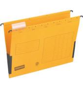 Hängetasche RC-Karton gelb A4 230g 10 Stück