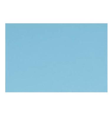 Designbriefumschläge B6 EcoRainbow ohne Fenster nassklebend blau 80g 25 Stück