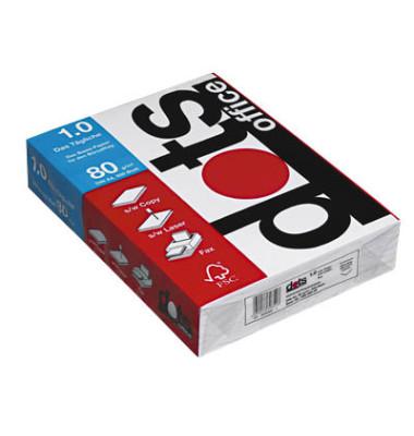 office 1.0 A4 80g Kopierpapier weiß 500 Blatt