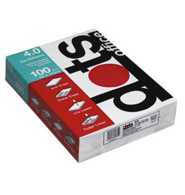 office 4.0 A4 100g Laserpapier hochweiß 500 Blatt