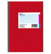Geschäftsbuch A6 kariert 70g 96 Blatt 192 Seiten
