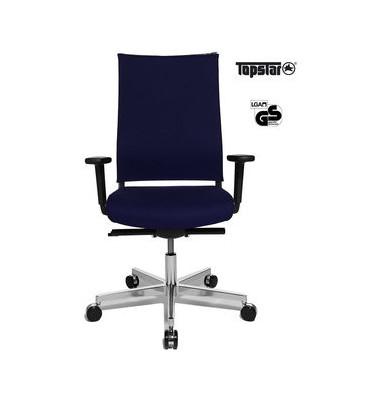 Bürodrehstuhl T400 Objekt dklblau inkl. AL