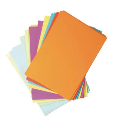 Toppoint farbig sortiert A4 75g Kopierpapier 250 Blatt