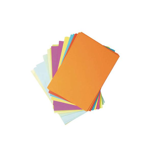 Rainbow Kopierpapier Papier Druckerpapier farbig bunt A4 160g Kopierkarton Farbe