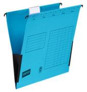 Hängetasche RC-Karton blau A4 230g 10 Stück