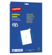 Etiketten A4 25 Blatt weiß 105x148mm 100 St