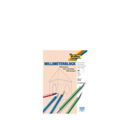 Millimeter-Block DIN A4