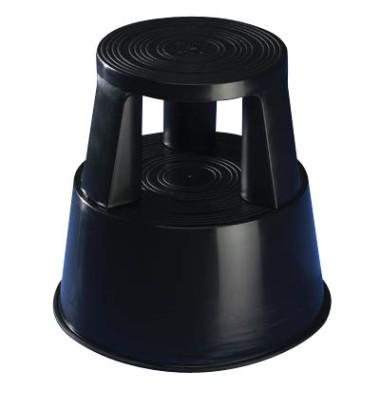 Rollhocker Step 2122 Kunststoff schwarz 43cm hoch 2,8kg