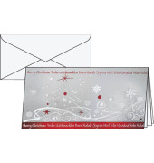 Weihnachtskarten Winter Breeze Din Lang 10 Stück inkl. weißen Umschlägen