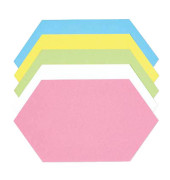 Moderationskarten Königswabe farbig sortiert 29x16,5cm 500 Stück