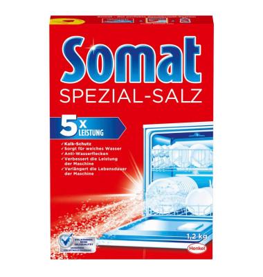 Spezial-Salz für Geschirrspülmaschine grobkörnig Karton 1,2 kg