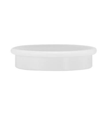 10 Haftmagnete weiß 3,2 cm