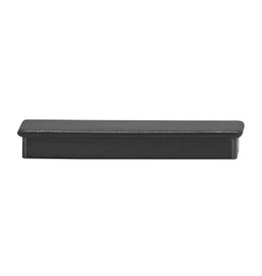 Magnete rechteckig schwarz 2,8 x 5,5 cm