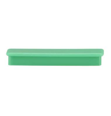 Magnete rechteckig grün 2,8 x 5,5 cm