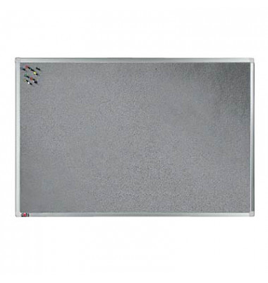 Textiltafel grau 90 x 60cm