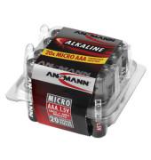 Batterie Red Alkaline Micro / LR03 / AAA 20 Stück