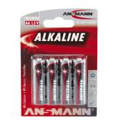 Batterie Red Alkaline Mignon / LR06 / AA 4 Stück