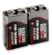 Batterie Red Alkaline E-Block / 6LR61 / 9V-Block 2 Stück