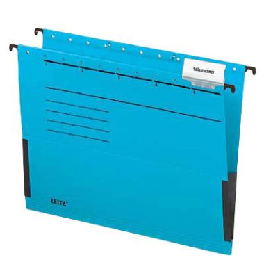 Hängetasche ALPHA A4 blau 5 Stück 19863035