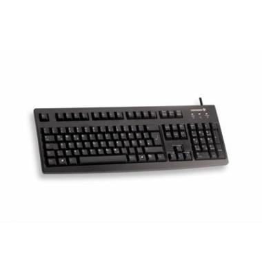 Tastatur G83-6105 schwarz mit USB-Anschluss