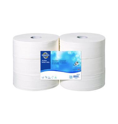 Toilettenpapier Jumbo 5158212 2-lagig 6 Rollen