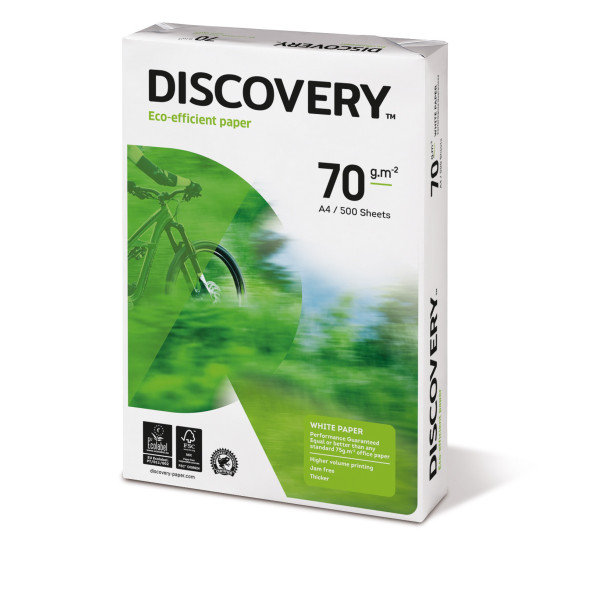 discovery a4 70g kopierpapier wei 500 blatt. Black Bedroom Furniture Sets. Home Design Ideas