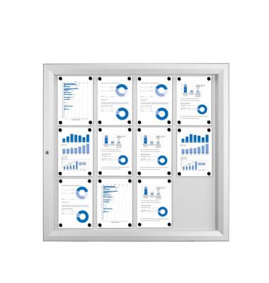 Schaukasten Für Aussen 12Xa4 Vertikal