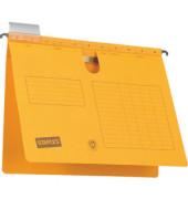 Hängehefter RC-Karton kaufmännische-Heftung gelb A4 230g 10 Stück